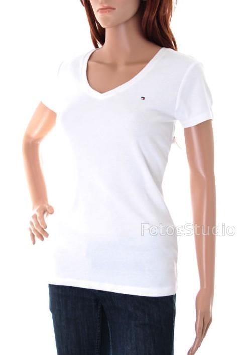 df3025a5b67d6 Bluzka damska koszulka t-shirt TOMMY HILFIGER S - Sklepo-Sfera.pl ...