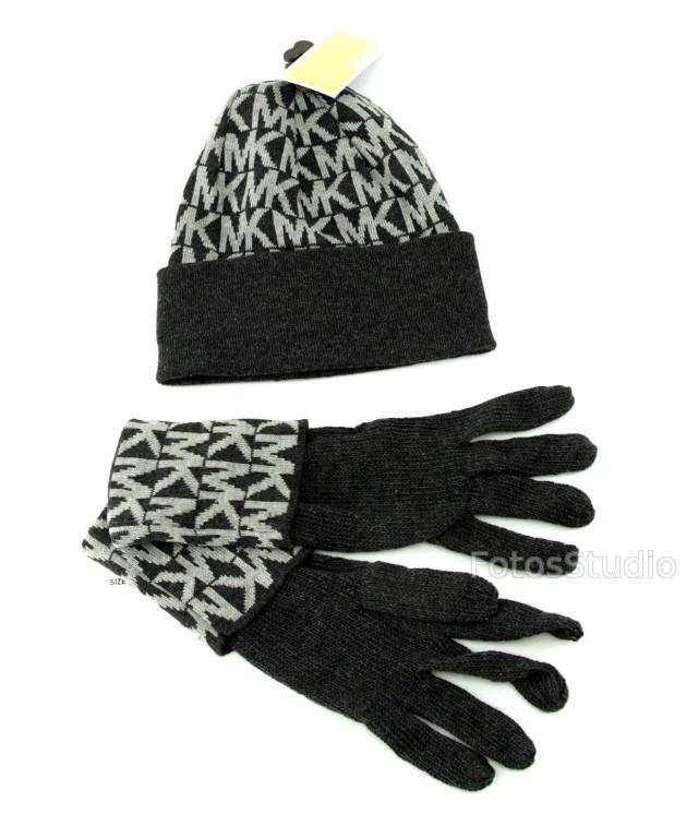 d7c7915a7dab5 Zestaw zimowy damski czapka rękawiczki MICHAEL KORS - Sklepo-Sfera ...