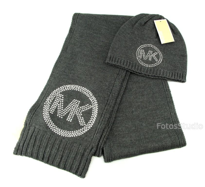 ec5f21c0ece7e Komplet zestaw zimowy damski czapka szalik MICHAEL KORS - Sklepo ...