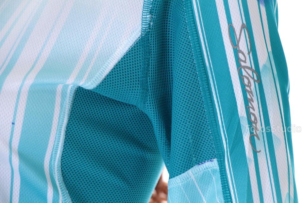 Bluzka damska koszulka bielizna sportowa termalna termoaktywna SALOMON M gww