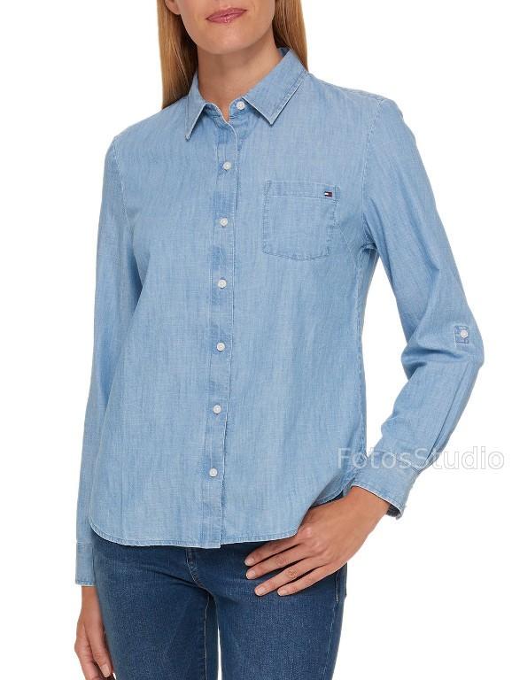 2a5c012ab55e1 Koszula bluzka damska jeansowa TOMMY HILFIGER XL - Sklepo-Sfera.pl ...