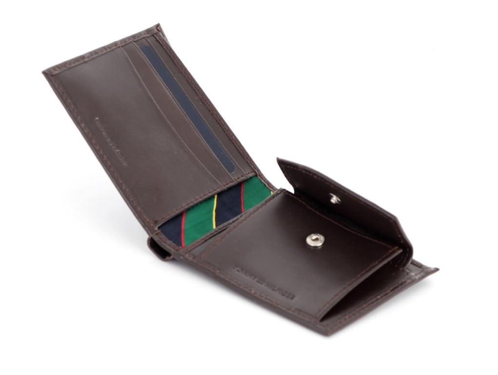 af6541b05 ... Portfel męski skórzany TOMMY HILFIGER z kieszenią na monety RFID gw