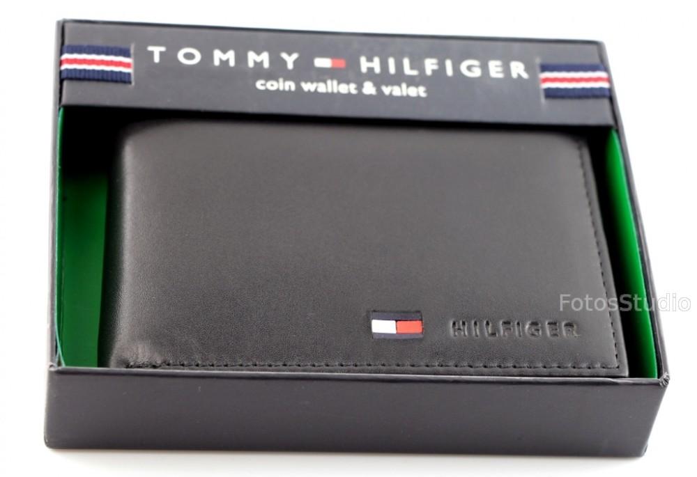 1fe1992de0851 Sklep Portfel męski skórzany TOMMY HILFIGER z kieszenią na monety ...