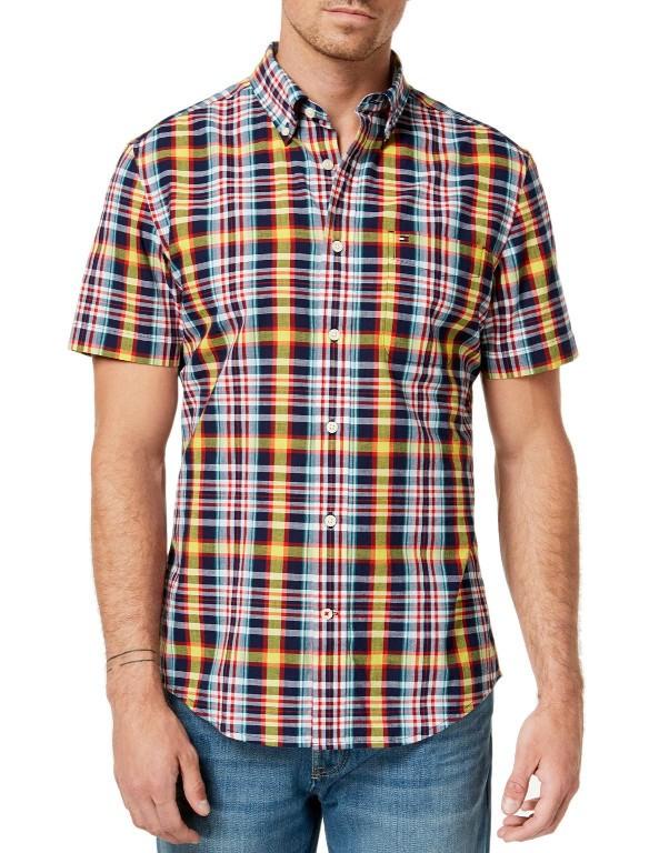 d531f55267e93 Koszula męska z krótkim rękawem TOMMY HILFIGER - Sklepo-Sfera.pl ...