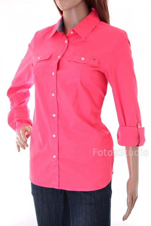1f285c5f29896 11B Koszula bluzka damska z dlugim rekawem TOMMY HILFIGER L - Sklepo ...