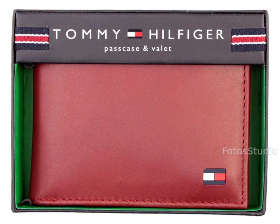 babd47e17647d Sklep  35D Portfel męski skórzany TOMMY HILFIGER z Etui na karty ...